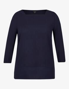 Bexleys woman - Unifarbene Bluse