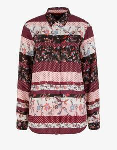 s.Oliver - Bluse mit Patchwork-Muster