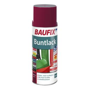 BAUFIX Buntlack-Spray - Bordeaux