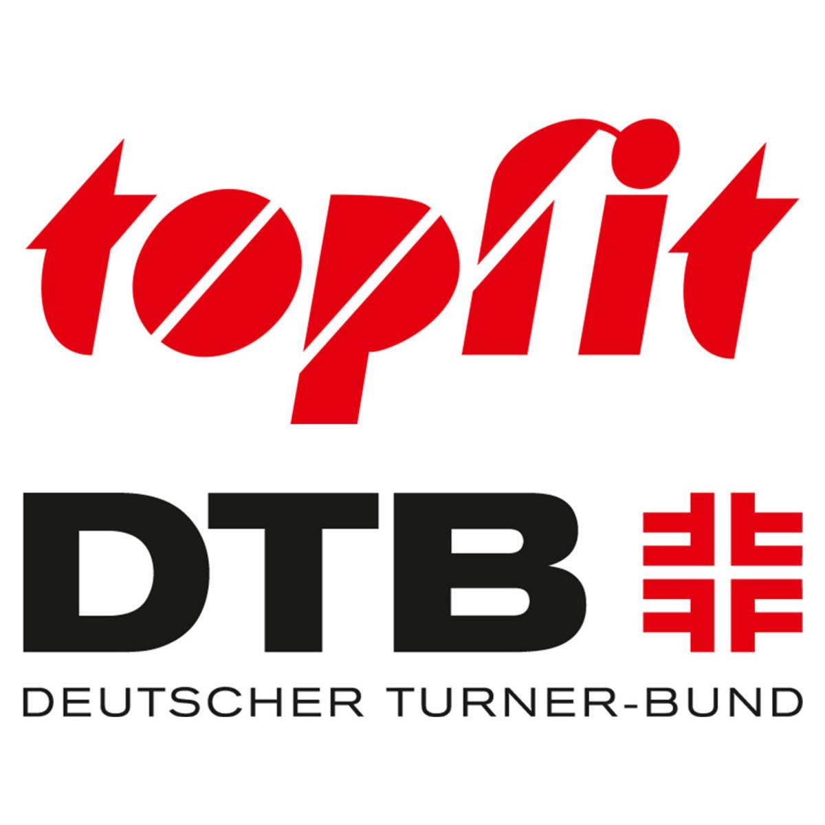 Bild 2 von Topfit Knie-Sportbandage, Größe L/XL - Blau/Schwarz