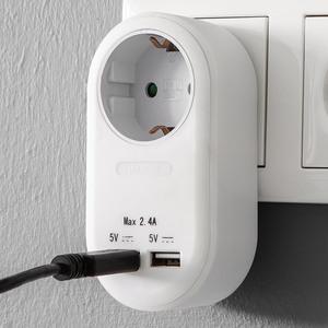 Powertec Electric Steckdosen-Adapter