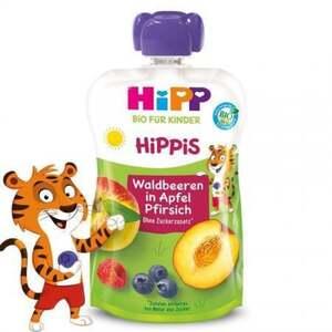 HiPP Waldbeeren in Apfel-Pfirsich Fruchtpüree