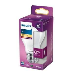 PHILIPS LED Birne 60W matt E27