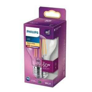 PHILIPS LED Birne 60W klar E27