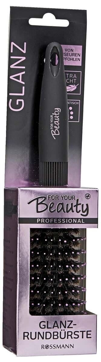 Bild 1 von for your Beauty FOR YOUR BEAUTY PROFESSIONAL GLANZ-RUNDBÜRSTE
