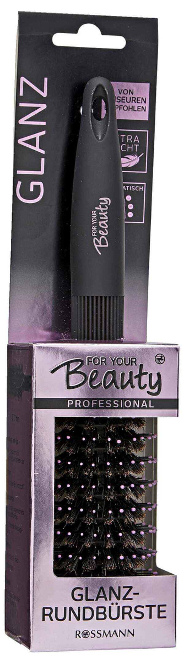 for your Beauty FOR YOUR BEAUTY PROFESSIONAL GLANZ-RUNDBÜRSTE