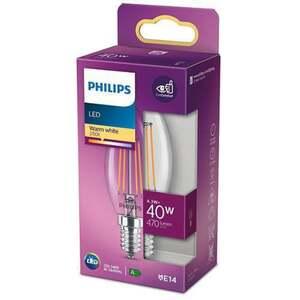 PHILIPS LED Kerze 40W E14