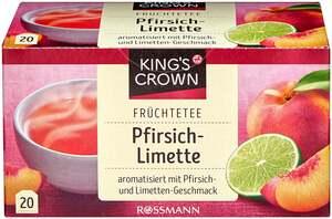 King's Crown Früchtetee Pfirsich-Limette
