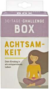 IDEENWELT 30-Tage-Challenge Box Achtsamkeit