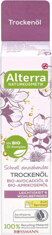 Alterra Trockenöl Bio-Avocadoöl & Bio-Aprikosenöl