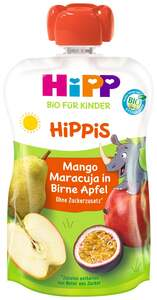 HiPP Bio Hippis Mango-Maracuja in Birne Apfel