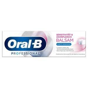 Oral-B Professional Zahnpasta Sensitivität und Zahnfleischbalsam Sanfte Reinigung