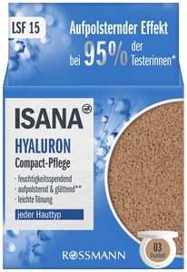 ISANA Hyaluron Compact Pflege, dunkel