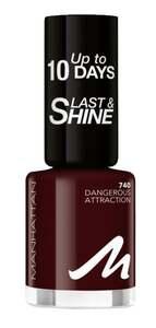 Manhattan Last & Shine Nail Polish 740 Dangerous Attraction