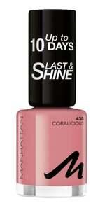 Manhattan Last & Shine Nail Polish 430 Coralicious