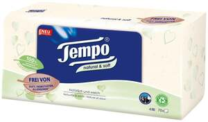 Tempo natural & soft Taschentücherbox