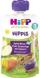 HiPP Bio Hippis Apfel Birne Zimt Zwetschge mit Einkorn