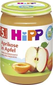 HiPP Bio Aprikose in Apfel ab dem 5. Monat