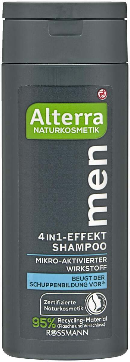 Bild 1 von Alterra men 4in1-Effekt  Shampoo