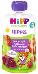HiPP Bio Hippis Granatapfel Acerola in Apfel-Himbeere