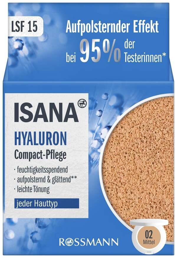 ISANA Hyaluron Compact Pflege, mittel