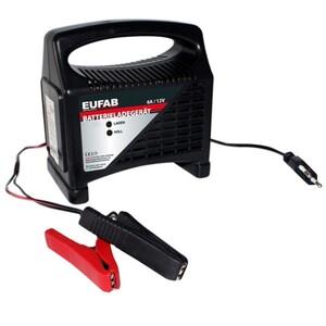 Batterieladegerät 12V 6A kompakt und handlich