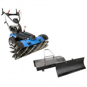 GÜDE Kehrmaschine GKM 100 Pro inkl. Schneeschild