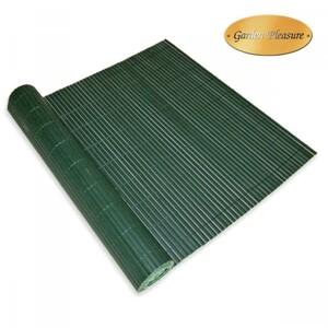 Sichtschutz Matte Balkon 90 x 300 cm PVC grün