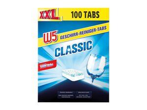 W5 Geschirrreiniger-Tabs XXL-Packung