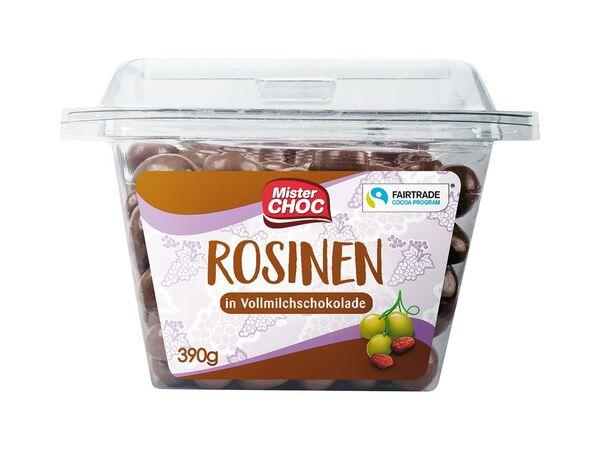 Mister Choc Mandeln und Frucht in Schokolade