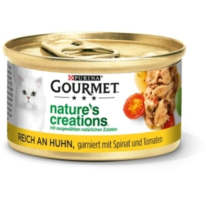 Gourmet Nature's Creations 12x85g Huhn