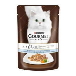Gourmet à la Carte 24x85g Hochseefisch an Reis-Gemüsekomposition
