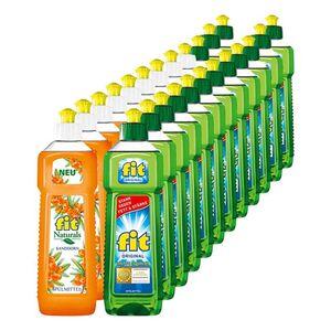 Fit Spülmittel verschiedene Sorten 500 ml, 24er Pack