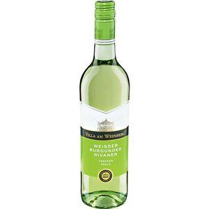 Villa am Weinberg Weißburgunder Rivaner Qualitätswein 11,5 % vol 0,75 Liter