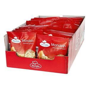 Backfee Mandeln gehackt 100 g, 25er Pack