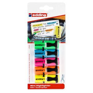 edding®  Mini-Textmarker