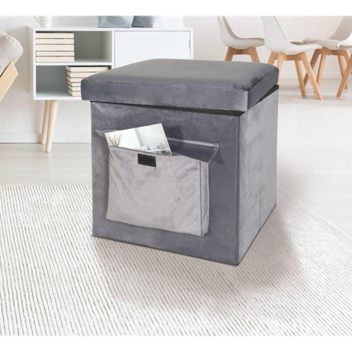 Bild 1 von Sitz- und Aufbewahrungsbox, grau