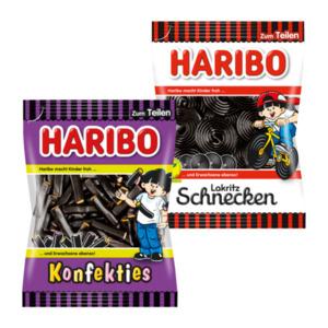 Haribo Konfekties / Lakritz-Schnecken