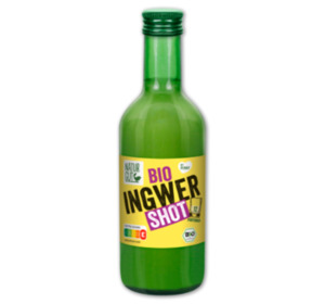 NATURGUT Bio-Ingwer oder -Ingwer-Kurkuma-Shot