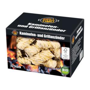 GRILL TIME     Kaminofen- und Grillanzünder