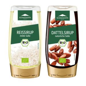 SCHNEEKOPPE     Bio-Reis- / -Dattelsirup