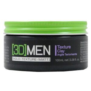 Schwarzkopf 3D Men Texture Clay 100 ml für Herren
