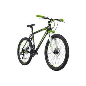 KS Cycling Mountainbike Hardtail 26 Zoll Compound 21 Gänge für Herren, Größe: 51, Schwarz
