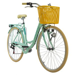 KS Cycling Cityrad 6-Gänge Cantaloupe 28 Zoll grün für Damen