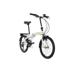 KS Cycling Faltrad 20'' Cityfold 6 Gänge, Größe: 27, Weiß