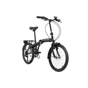 KS Cycling Faltrad 20'' Cityfold 6 Gänge, Größe: 27, Schwarz