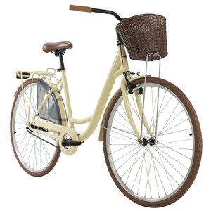 KS Cycling Damenfahrrad Cityrad Zeeland 28 Zoll, Größe: 48, Beige