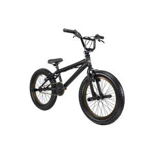 KS Cycling BMX Freestyle 20'' Fatt schwarz-bronze für Jungen