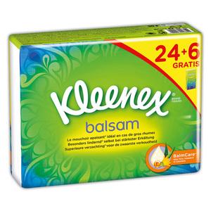 Kleenex Balsam-Taschentücher