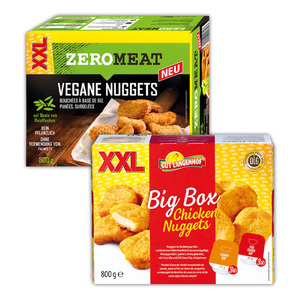 Gut Langenhof / Zero Meat Chicken Nuggets / Vegane Nuggets XXL
